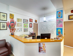 Main Reception | Tattoo Machine Studio